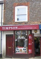Timpson .. Key cutting, Shoe Repairs